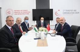 وزير المواصلات يلتقي نظيره التركي في إسطنبول