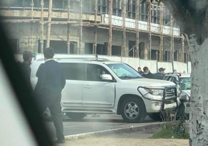 إصابة دبلوماسي فرنسي بحادث سير في غزة