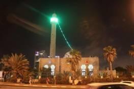 مستوطنون يعتدون على مسجد حسن بيك في يافا