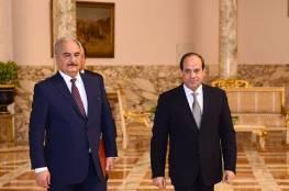 الجيش الليبي يعلن تسلم حفتر رسالة هامة من السيسي عبر المخابرات الحربية المصرية