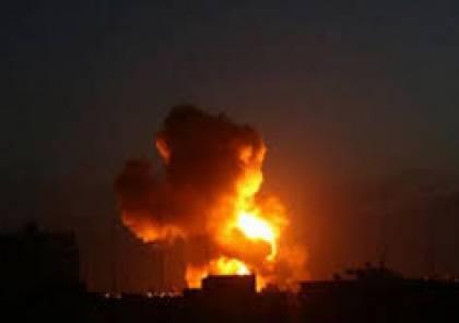 الدفاعات السورية تتصدى لقصف اسرائيلي استهدف مطار التيفور