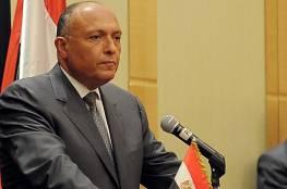 الخارجية المصرية: مستمرون بالعمل على استئناف المفاوضات بين الإسرائيليين والفلسطينيين