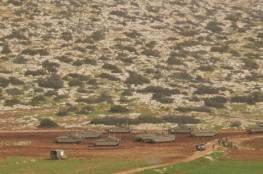 الاحتلال يجري تدريبات عسكرية في الأغوار الشمالية