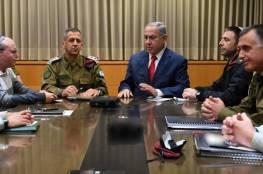 """اسرائيل: إلغاء اجتماع """"الكابينت"""" المقرر الأربعاء"""