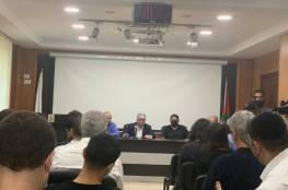 فصائل وهيئات تدين لقاء منظمة التحرير التطبيعي مع صحافيين إسرائيليين