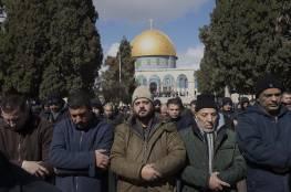 60 ألف أدوا صلاة التراويح في المسجد الأقصى المبارك