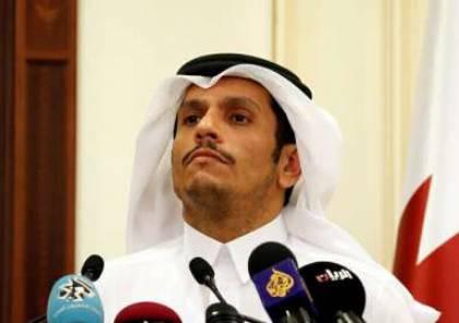 """وزير خارجية قطر: حكومة السيسي منتخبة شرعيا ولم نبحث موضوع """"الإخوان"""" معها"""