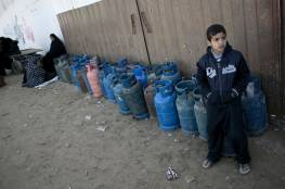 غزة تواجه أزمة غاز خطيرة منذ أيام.. والمالية توضح سبب تدنى كميات غاز الطهي بالقطاع