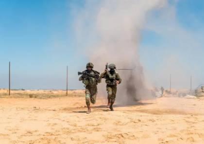 تعرف على مهام كتيبة الاستطلاع الصحراوية قرب حدود غزة
