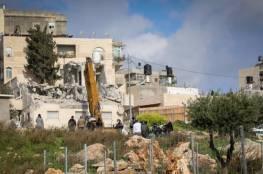 الاحتلال يُجبر مقدسيين على هدم منشاة شمال القدس المحتلة
