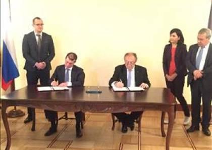 فلسطين وروسيا تتفقان على خارطة تطوير وتنمية العلاقات الاقتصادية والتجارية