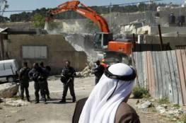 سلطات الاحتلال تهدم منزلي الأسيرين يزن مغامس ووليد حناتشة