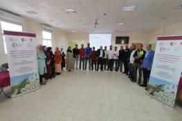 الإغاثة الزراعية تبدأ مرحلة الاحتضان للمستفيدين من مشروع تمكين الشباب الفلسطيني