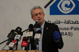 مصطفى البرغوثي: حكام إسرائيل يجرون المنطقة بأسرها إلى دائرة العنف والدمار