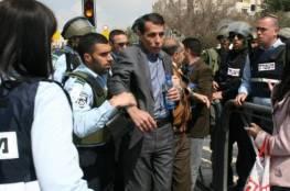 قوات الاحتلال تعتقل القيادي الفتحاوي حاتم عبد القادر من باب العامود بالقدس
