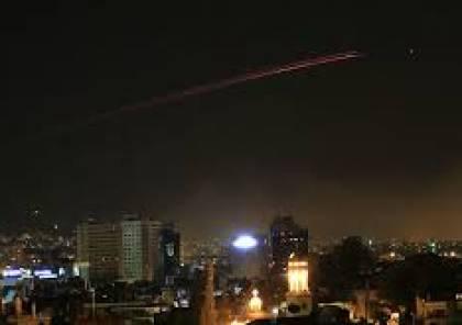 مصدر أمني سوري : إسقاط طائرة مسيرة إسرائيلية