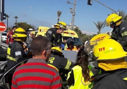 6 إصابات في حادث طرق قرب عكا