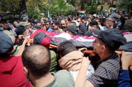 تشييع جثمان الشهيد أبو جزر في رفح بعد احتجاز جثمانه 3 سنوات