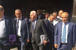 """رسميا.. وفد """"فتح"""" يسلم المخابرات المصرية موقف القيادة بشأن المصالحة ويغادر القاهرة"""