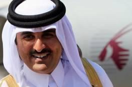 امير قطر يوجه برقية للسيسي على خلفية تفجير الكنيستين