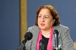 وزيرة الصحة الفلسطينية تصل إلى قطاع غزة على رأس وفد طبي