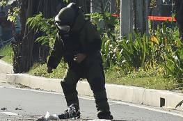 مانيلا: تفجير هاتف وطرد مشبوه قرب سفارة أميركا