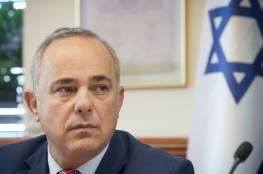 وزير اسرائيلي : سأتخذ دور الجبان وأقول بصراحة أنا متخوف من اندلاع حرب ضد حماس