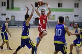 المغازي يعبر جمعية الشبان وبيت حانون يتفوق على شباب البريج في دوري السلة