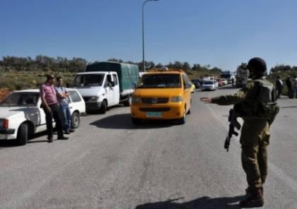 الإحتلال يطلق النار على مواطن على حاجز حوارة جنوب نابلس ويصيبه بجراح