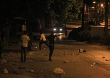 نابلس: إصابات بالاختناق خلال مواجهات مع جيش الاحتلال في سبسطية