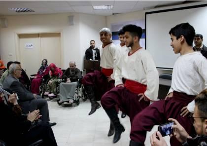 """"""" هما بركتنا """" حفل خيري لدعم مسني الوفاء بغزة"""