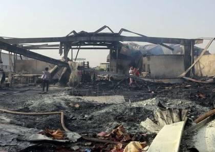 مقتل 79 حوثيا بغارات في محافظة الحديدة