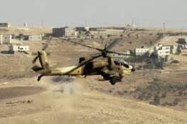 جيش الاحتلال الاسرائيلي يقصف اهدافا جنوب سورية
