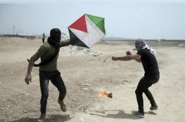 تعليمات لجيش الاحتلال باستهداف مطلقي الطائرات الورقيّة