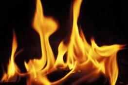 خانيونس: 5 إصابات جراء اثر حريق في مسجد