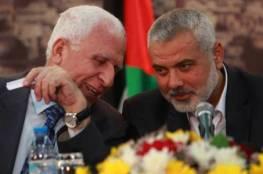 هاتف قيادة حماس.. الأحمد يلتقي مسؤولين مصريين مكلفين بملف المصالحة لتذليل العراقيل