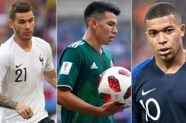 أفضل 11 لاعب شاب في كأس العالم 2018