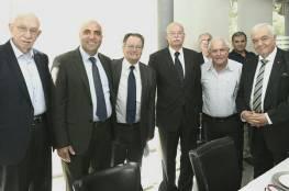 صور: وزير العمل الفلسطيني يلتقي نظيره الاسرائيلي في القدس بوساطة ألمانية