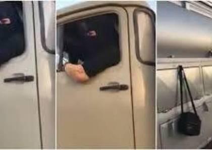 فيديو.. سعودية تقود صهريج ماء!