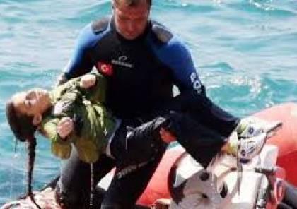 وفاة 9 فلسطينيين بينهم نساء واطفال غرقا بزورق في المياه التركية
