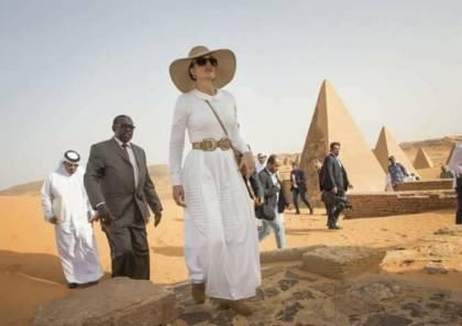 """صور: الشيخة موزا من حلايب: """" السودان أم الدنيا"""