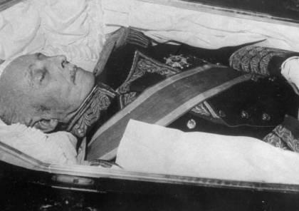 البرلمان الإسباني يفتح قبر الديكتاتور الدموي