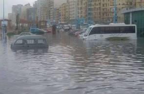 مصرع 5 أشخاص جراء السيول والأمطار الشديدة في الاسكندرية