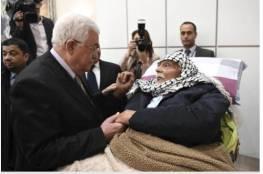 """أول أسير فلسطيني """"أبو بكر حجازي"""" يشارك بالمؤتمر السابع"""