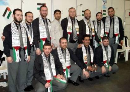 وصول فرقة الوعد إلى غزة لاحياء مهرجان انطلاقة حماس