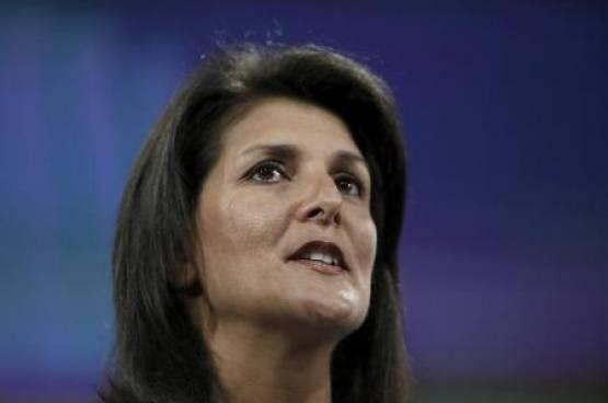"""هالي مندوبة أميركا الجديدة لدى الامم المتحدة تدعم""""حل الدولتين"""" ونقل السفارة الى القدس"""