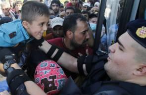 كرواتيا تغرق في طوفان اللاجئين