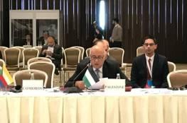 الرجوب يطالب الدول الإسلامية بدعم صمود الشباب الفلسطيني
