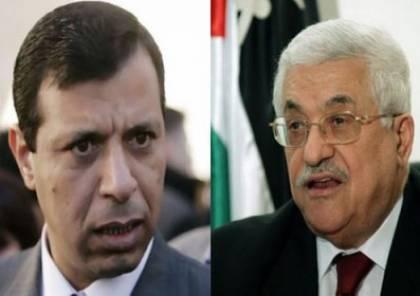صحيفة: الرئيس يقاوم  ضغوط عربية قوية لاعادة دحلان لصفوف فتح
