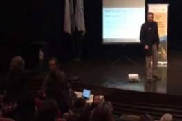 طلاب عرب يهاجمون معارضا سوريا خلال ندوة في الجامعة العبرية وما علاقة غزة ؟